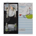 Farmily baby set stainless steel cotton 3-pieces