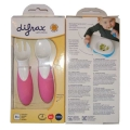 Difrax toddler cutlery pink