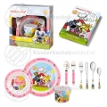 Woezel and Pip children's set pink 9-pieces