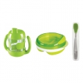 Baby set green 3-pieces