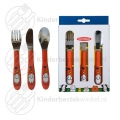 Farm Orange toddler cutlery 3-pieces