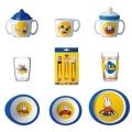 Miffy travel children's tableware melamine 11-pieces
