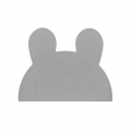 Konijn kinderplacemat grijs