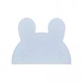 Konijn kinderplacemat lichtblauw