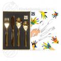 Engraving children's cutlery 4-pieces (Zilverstad)