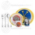 Miffy Zoo children's cutlery tableware set 8-pieces