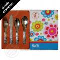 Raffi Flower children's cutlery stainless steel 4-pieces