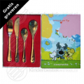 Woezel and Pip children's cutlery stainless steel 4-pieces