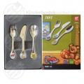Toys baby cutlery colour 3-pieces