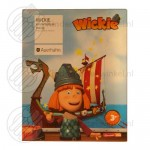 Wickie de Viking kinderbestek 4-delig