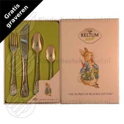 Beatrix Potter kinderbestek rvs 4-delig