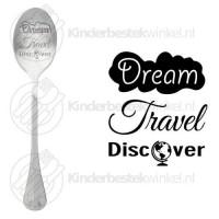 Dream Travel Discover tekstlepel