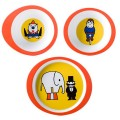 Circus kinderservies melamine 3-delig