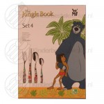 Jungle Book kinderbestek rvs 4-delig (Disney)