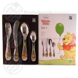 Winnie the Pooh kinderbestek 4-delig (Disney)