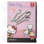 Hello Kitty kinderbestek kleur 4-delig