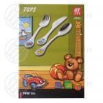 Toys babybestek kleur 3-delig