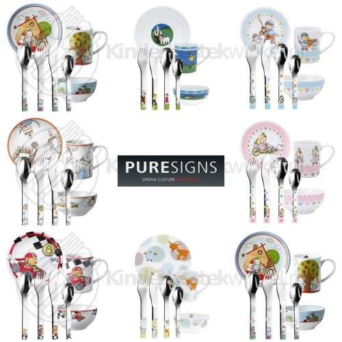 Puresigns kinderservies sets